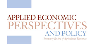 Applied Economic Perspectives and Policy