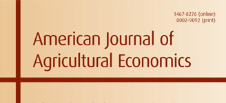 The American Journal of Agricultural Economics